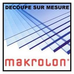 Makrolon sur mesure 3 ou 5mm