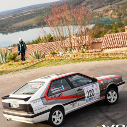 Vitre arrière latérale Makrolon Audi Coupé Quattro