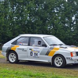 Lunette arrière Makrolon Opel Kadett D Coupé