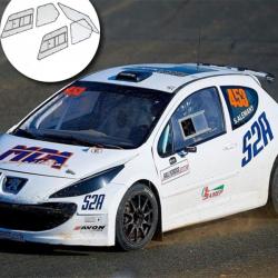 Kit Makrolon Peugeot 207 - 3mm