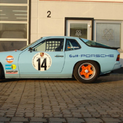 Vitre avant Makrolon Porsche 924, 944 et 968