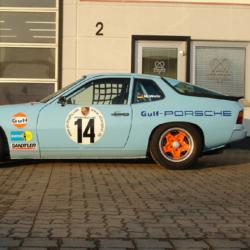 Vitre arrière latérale Makrolon Porsche 924, 944 et 968