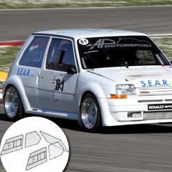 Kit Makrolon Renault Super 5 GT - 3mm