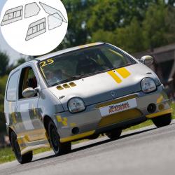 Kit Makrolon Renault Twingo 1 - 3mm