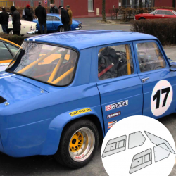 Kit Makrolon Renault 8 Gordini - 5mm