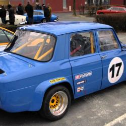 Vitre avant Makrolon Renault 8 Gordini