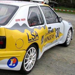 Vitre avant Makrolon Renault 19