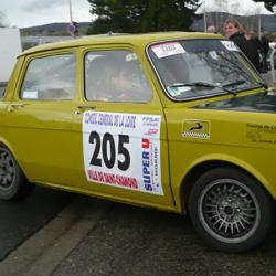 Vitre avant Makrolon Simca 1000 Rallye