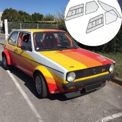 Kit Makrolon Volkswagen Golf 1 - 5mm