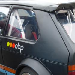 Vitre arrière latérale Makrolon Volkswagen Golf 1