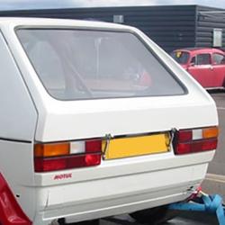Lunette arrière Makrolon Volkswagen Golf 1