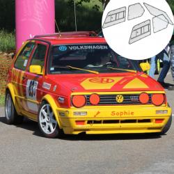 Kit Makrolon Volkswagen Golf 2 - F2000