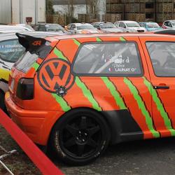Vitre arrière latérale Makrolon Volkswagen Golf 3