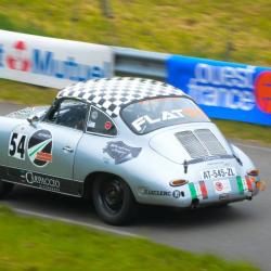 Lunette arrière Makrolon Porsche 356