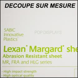 Margard sur mesure 3 ou 5mm