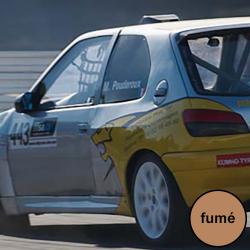 Vitre arrière latérale Makrolon Peugeot 306 - teinté fumé