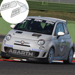 Kit Makrolon Fiat Punto 3 - 3mm