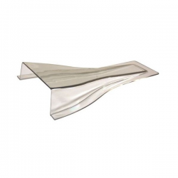 Prise d'air transparente Naca - 270x140