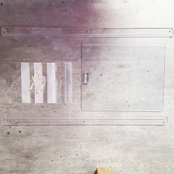 Fenêtre Makrolon N°1 | 20x15cm